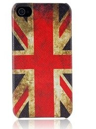 """Keep your Anglophile friends in cheeky London style with this vintage-style<a href=""""http://saraoutlet.com/british-flag-patter"""