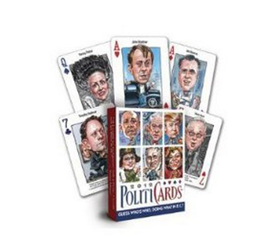 """Please your most political friend with these hilarious <a href=""""http://www.spencersonline.com/product/Pc-Politicard-2012/"""">pl"""