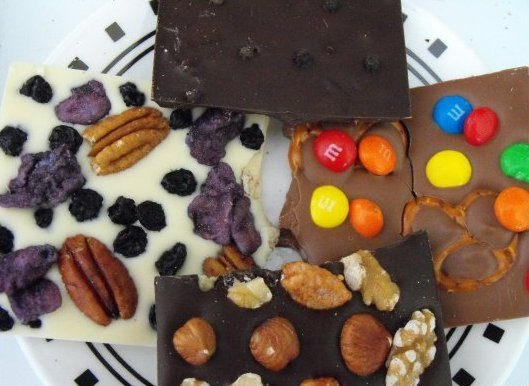 """Customize a candy bar for your favorite chocoholic starting at $4.25 on <a href=""""http://www.chocomize.com/"""">Chocomize.com</a>"""