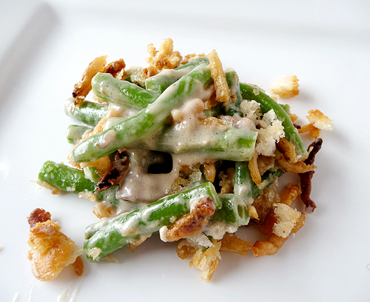 "<strong>Get the <a href=""http://www.browneyedbaker.com/2010/11/18/classic-green-bean-casserole-recipe/"">Fresh Green Bean Cass"