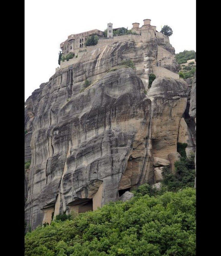 Not surprisingly, the six monasteries that make up Meteora have been classified as UNESCO World Heritage Sites. Thought to ha