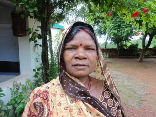 Tulsa Bai serves as president of her village council in Lakhakhera Panchayat in the Katni District of Madhya Pradesh in India