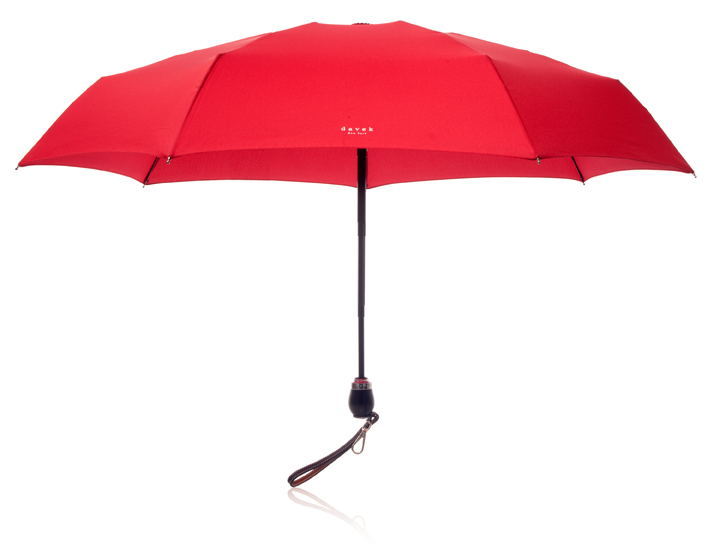 Your favorite boomer will appreciate this sleek umbrella's lifetime guarantee, which even covers damage from normal wear and