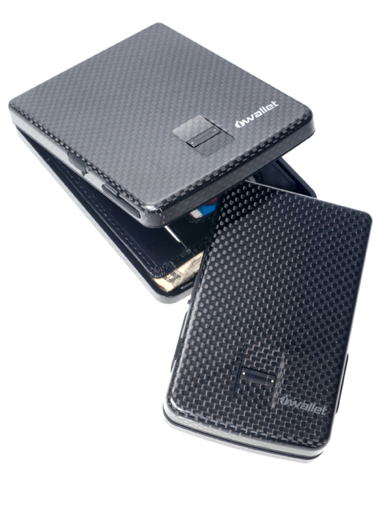 "This high-tech wallet only opens with their fingerprint to keep their hard-earned money safe. At <a href=""http://www.neimanma"