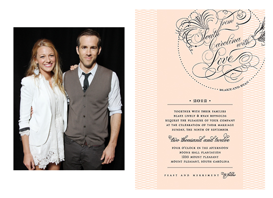 "For the <a href=""http://www.people.com/people/article/0,,20628487,00.html"">Charleston wedding</a> of America's sweethearts, w"