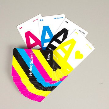 """For the typography-loving hipster, these colorful <a href=""""http://fab.com/sale/9355/product/94019/?hs=394"""">Helveticards </a>("""
