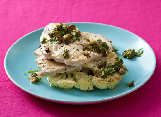 "<strong>Get the <a href=""http://www.huffingtonpost.com/2011/10/27/roasted-cauliflower-and-c_n_1057208.html"">Roasted Cauliflow"
