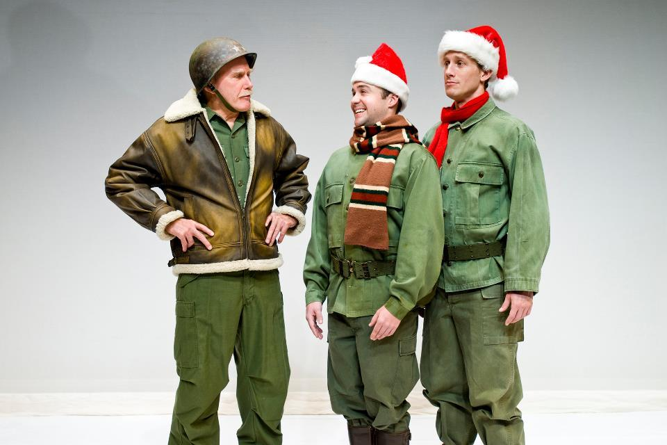 """Irving Berlin's """"White Christmas"""" is a holiday classic that follows two WWII vets and their new girlfriends as they help thei"""