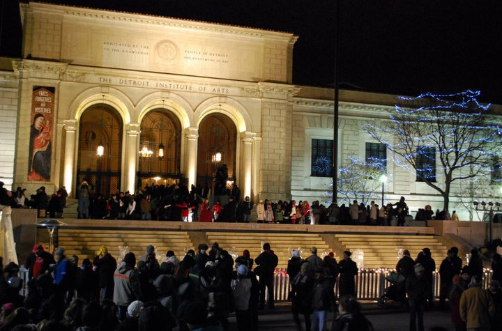 Midtown Detroit celebrates the 40th anniversary of Noel Night on Saturday, Dec. 1, 2012.
