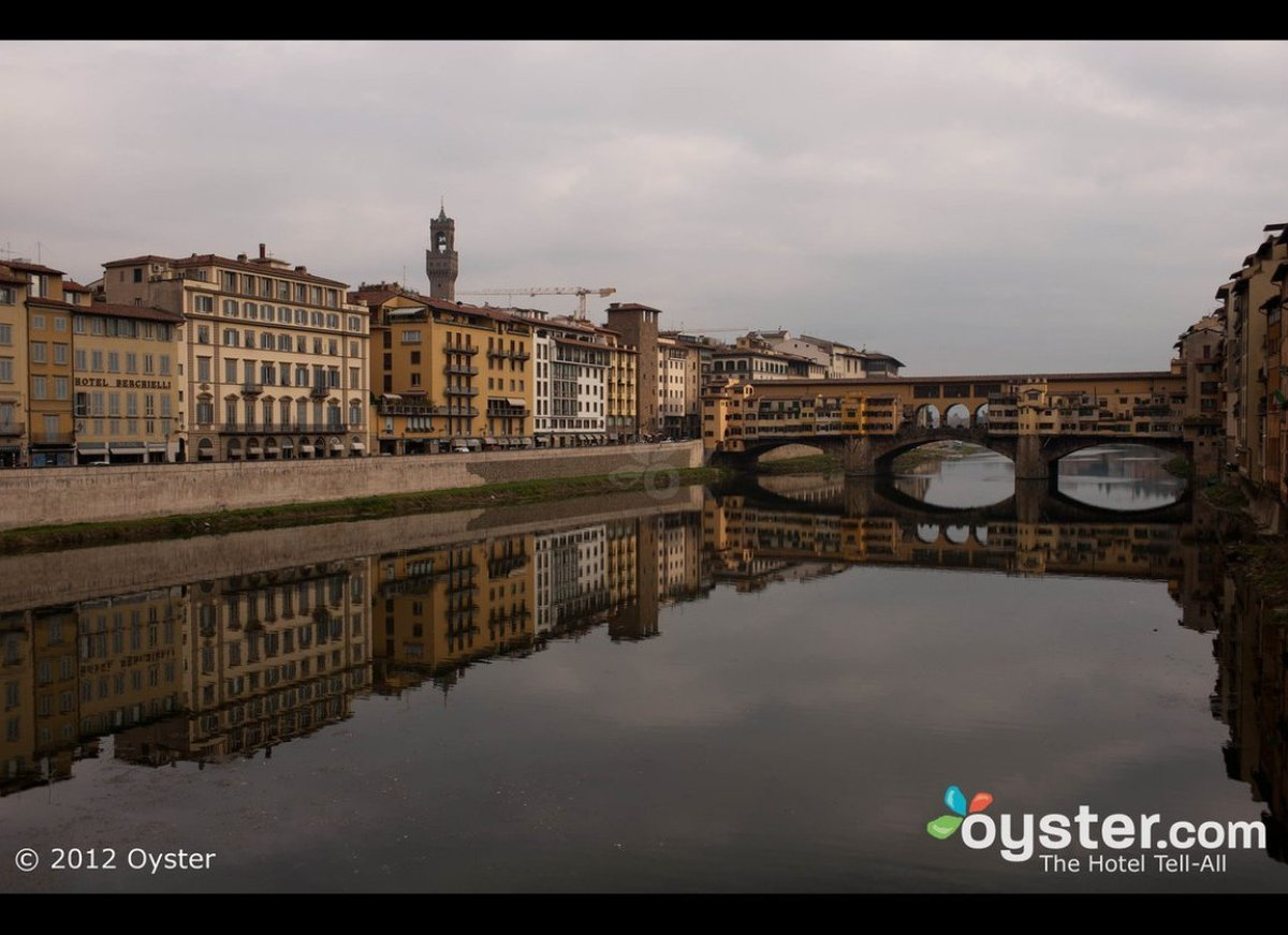 It's the hotel's location that makes it a good value: It's literally steps from the Ponte Vecchio and in the heart of Florenc