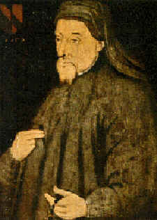 Geoffrey Chaucer reinvented English, writing in the vernacular of London rather than French or Latin and drawing verbs from d