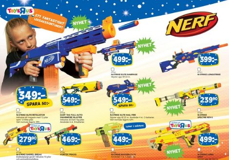 "Top Toy created the holiday catalog for toy chains BR and Toys""R""Us. The catalog was released in both Denmark and Sweden. The"