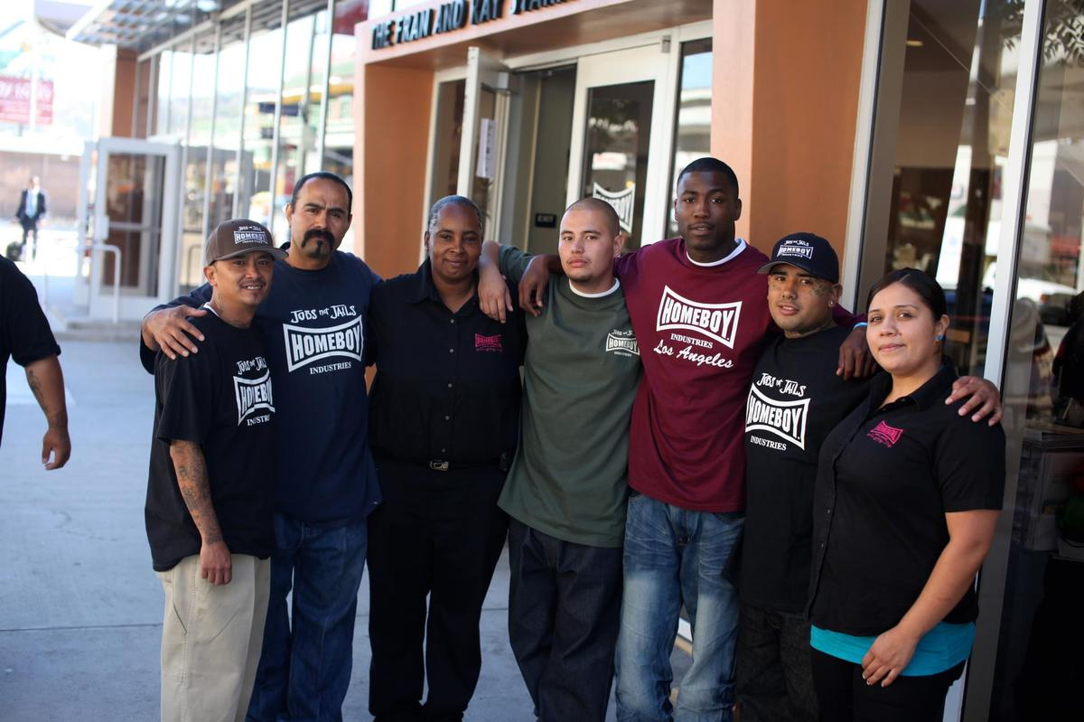 Homeboy Industries assists high-risk youth, former gang members and the recently incarcerated with a variety of free programs