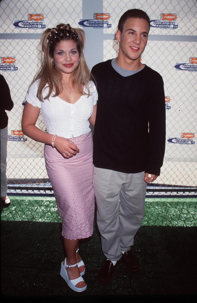 'Boy Meets World' cast members Ben Savage and Danielle Fishel attend Nickelodeon's 12th Annual Kids'' Choice Awards May 1, 19