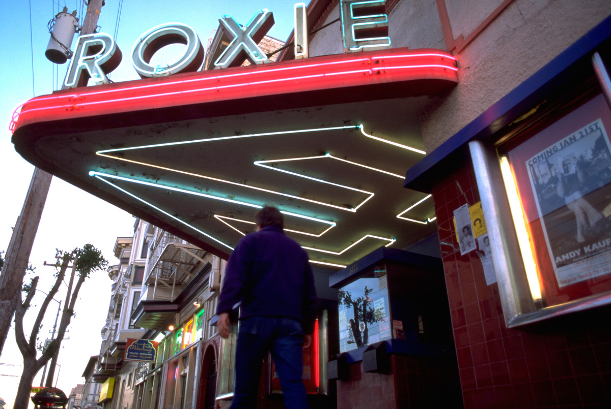 Catch a movie at one of our beloved local indie theaters, like the Roxie or Balboa.
