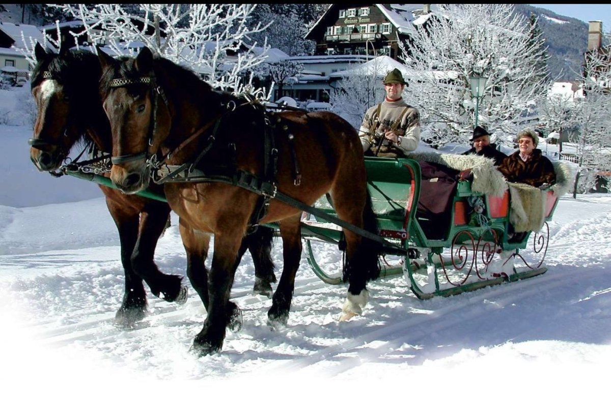 """Enjoy a traditional Alpine Christmas at this picturesque <a href=""""http://www.hoteldorf.com/en/"""" target=""""_hplink"""">hotel villag"""
