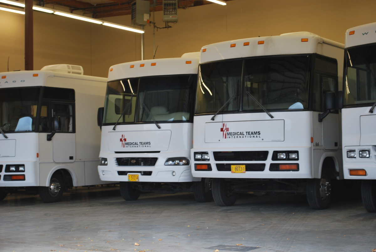 Mobile Dental Vans are converted motor homes transformed into fully equipped dental clinics.