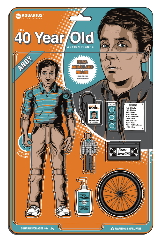 A Tribute To Judd Apatow: an art show inspired by a comedic producer Courtesy of Gallery 1988