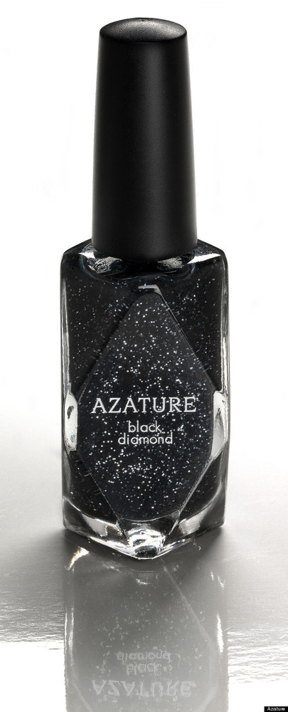 "Jewelry couturier Azature -- the self-described ""Black Diamond King"" -- is now producing a of diamond-infused nail polish for"