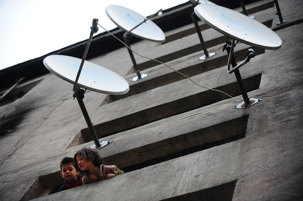 Satellite dish on the roof? You might be in luck. Satellite modems will still connect to the Internet during a blackout. <a h