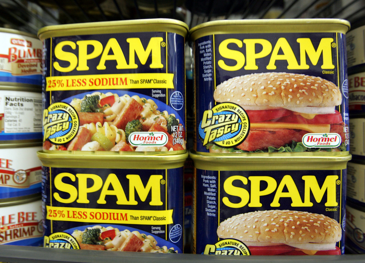 "No doubt Crystal Harris has heard of Monty Python's <a href=""http://www.montypythonsspamalot.com/"">""Spamalot""</a> -- as well"