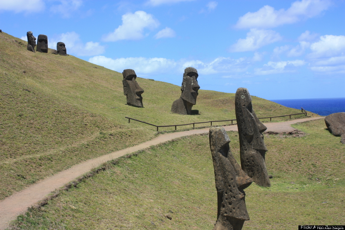 Tucked away in the South Pacific Ocean, Easter Island (or Rapa Nui) is said to be the world's most remote inhabited place. It