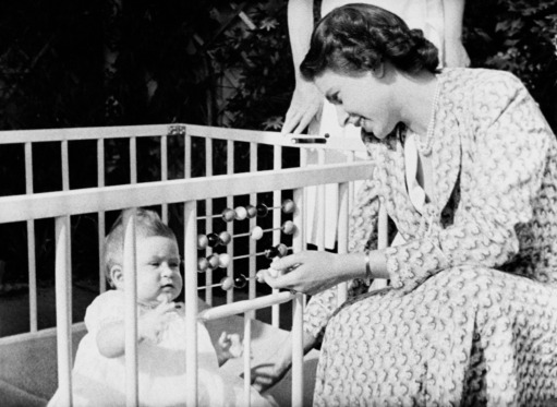 Until 1956, all royal babies were kept in cages.