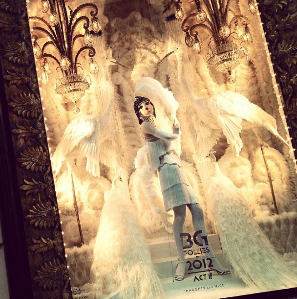 "Bergdorf Goodman ""BG Follies"" Holiday Windows"
