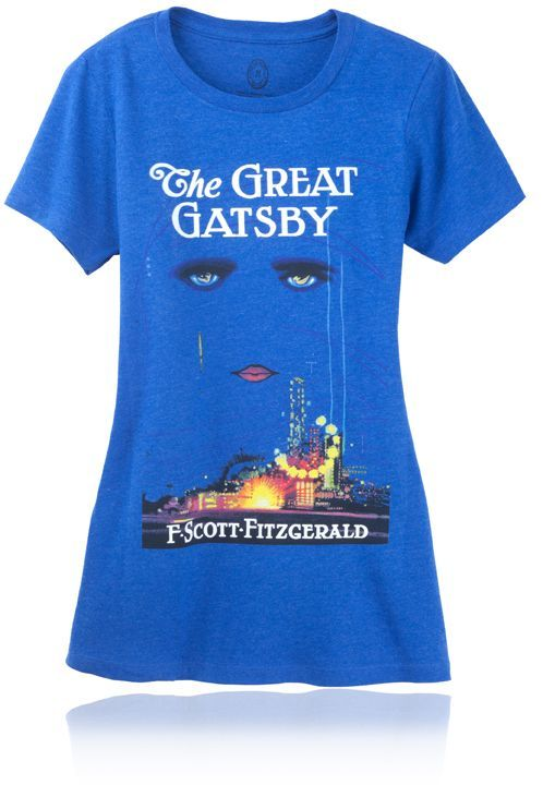 Your favorite bookworm can proudly display her favorite tome right on her chest. If she thinks <em>The Great Gatsby</em> is t