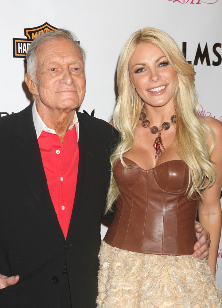 Playboy playmate Crystal Harris and Hugh Hefner were set to wed in June 2011, but Harris -- who is more than half a century y