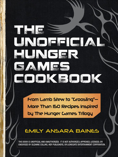 """For the foodie """"Hunger Games"""" fan, you can't go wrong with <a href=""""http://www.amazon.com/gp/product/1440526583/ref=as_li_ss_"""