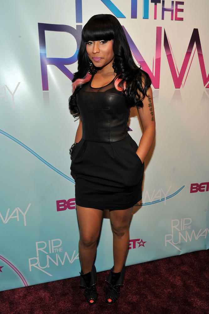 NEW YORK - FEBRUARY 27: Singer Nicki Minaj attends BET's Rip The Runway 2010 at the Hammerstein Ballroom on February 27, 2010