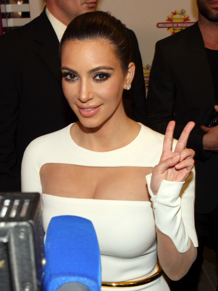 "<a href=""http://news.yahoo.com/year-in-review/"">Kim Kardashian</a>. The reality star's budding relationship with rapper Kanye"