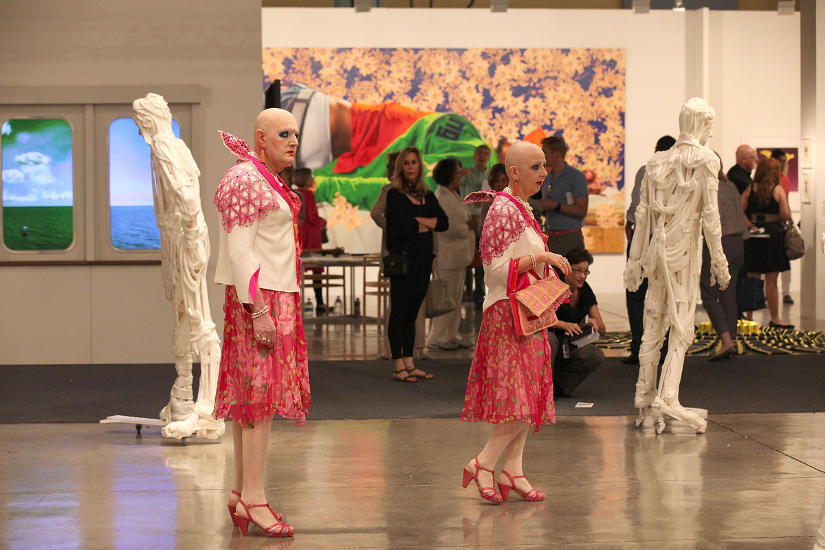 Through December 9 Miami Beach Convention Center Admission: $24 to $90  Court Eva and Adele (pictured left) and other curiosi