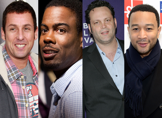 A. Adam Sandler B. Chris Rock C. Vince Vaughn D. John Legend
