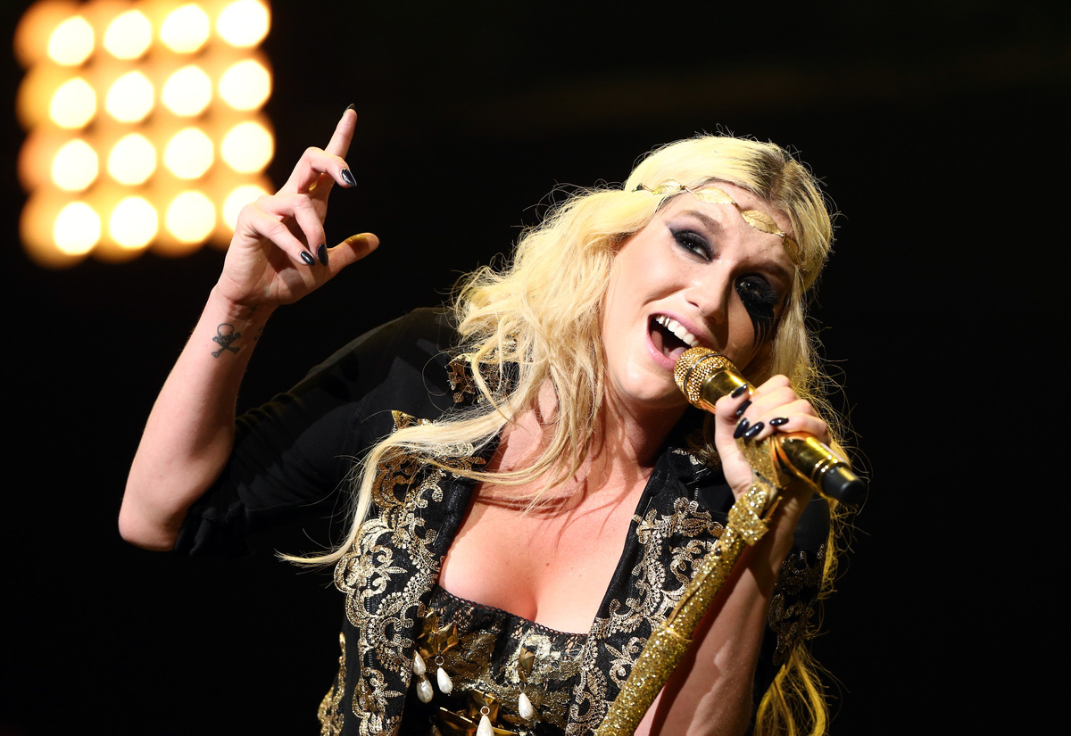"The album left the <em>Gaurdian</em> convinced Ke$ha's overproduced voice might be of robotic origins:  <a href=""http://www.g"