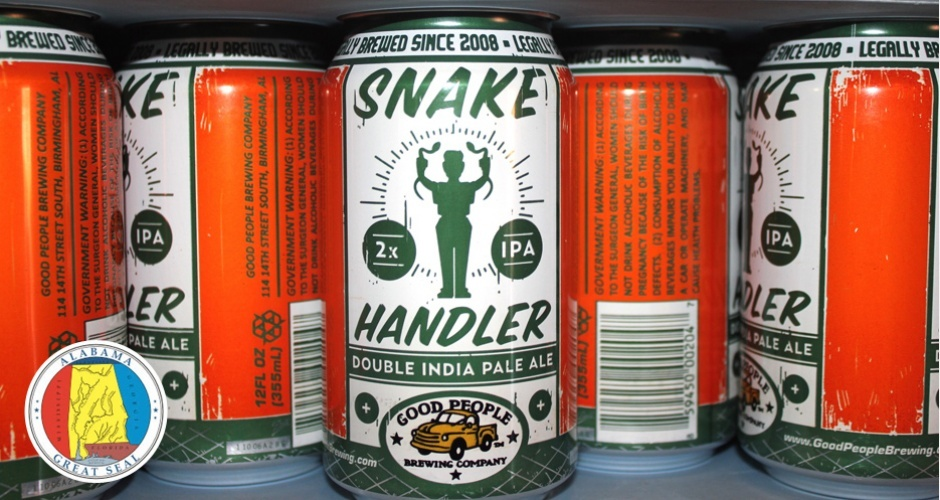 <strong>Good People Brewing Co. Snake Handler IPA</strong>  As Bible Belt states continue to lighten up on laws that have sty