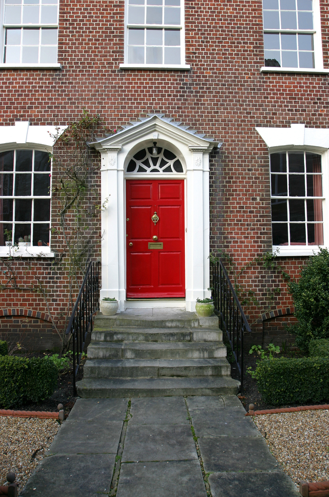 Giving your door a fresh coat of paint (or even a totally new color) is an easy way to prepare your home for visitors this se