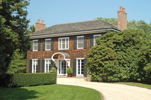 $32.5M estate on Ocean Road in Bridgehampton. The 8000 sq. ft. traditional is set on 7.2 acres.