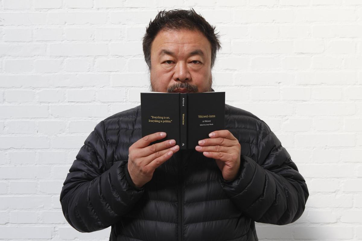 "TITLE: <a href=""http://press.princeton.edu/titles/9924.html"">Weiwei-isms</a> SUMMARY: A pocket-sized collection of Ai Weiwei'"