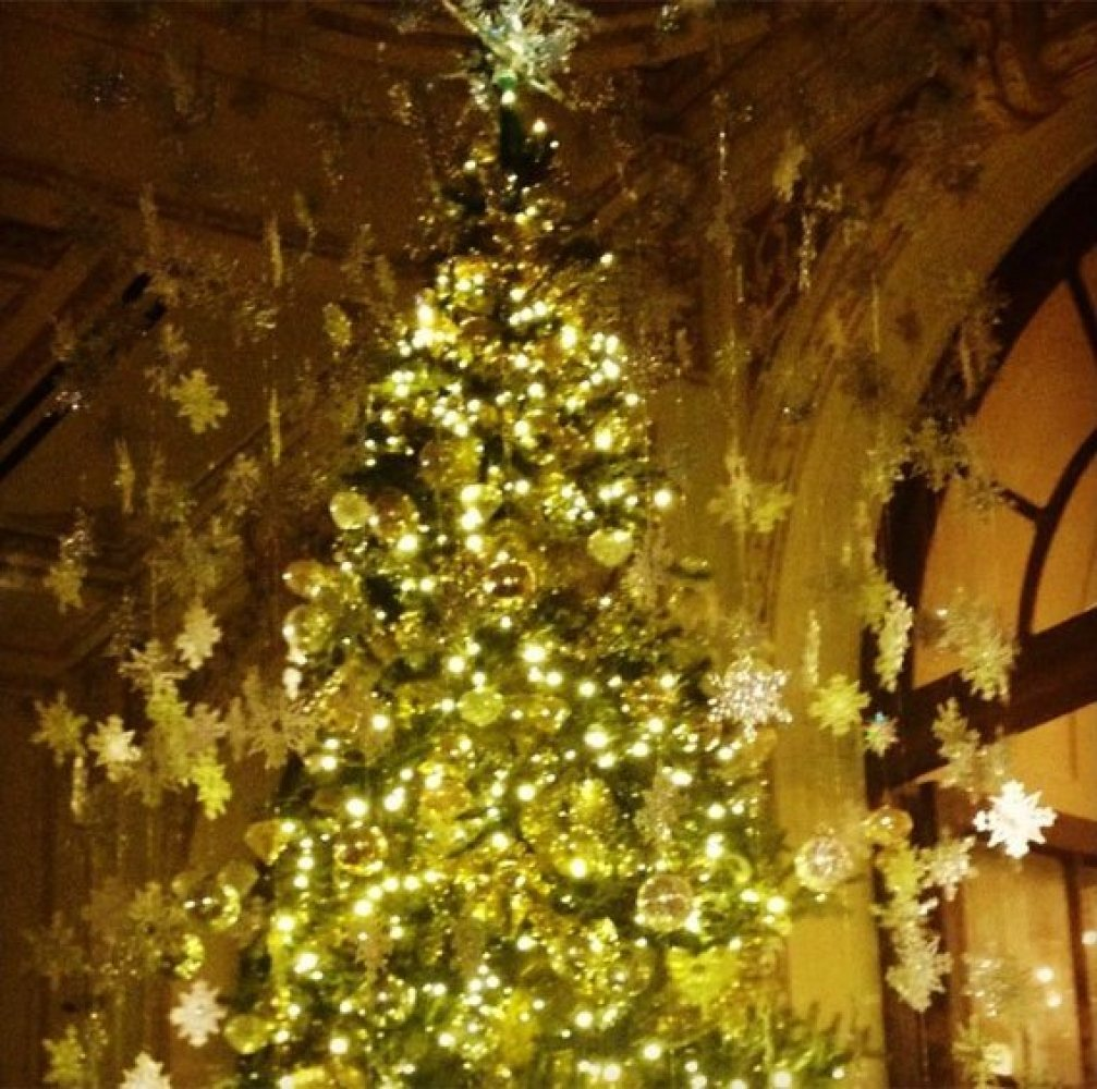 Could anything be more wonderfully in the Manhattan holiday mix than tea at the Palm Court in the Plaza? This magnificent rec