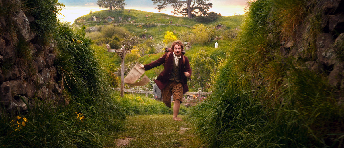 Of course, the hobbits in <em>LOTR</em> and <em>The Hobbit</em> go on some big adventures. The fate of the entire world rests