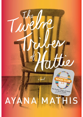 "Mathis' debut novel <em><a href=""http://www.amazon.com/Twelve-Tribes-Hattie-Oprahs-Book/dp/0385350287"">The Twelve Tribes of H"