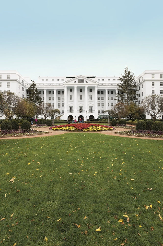<strong>Recent nip/tuck</strong>: Since West Virginia billionaire Jim Justice took over this landmark property in 2009, he's