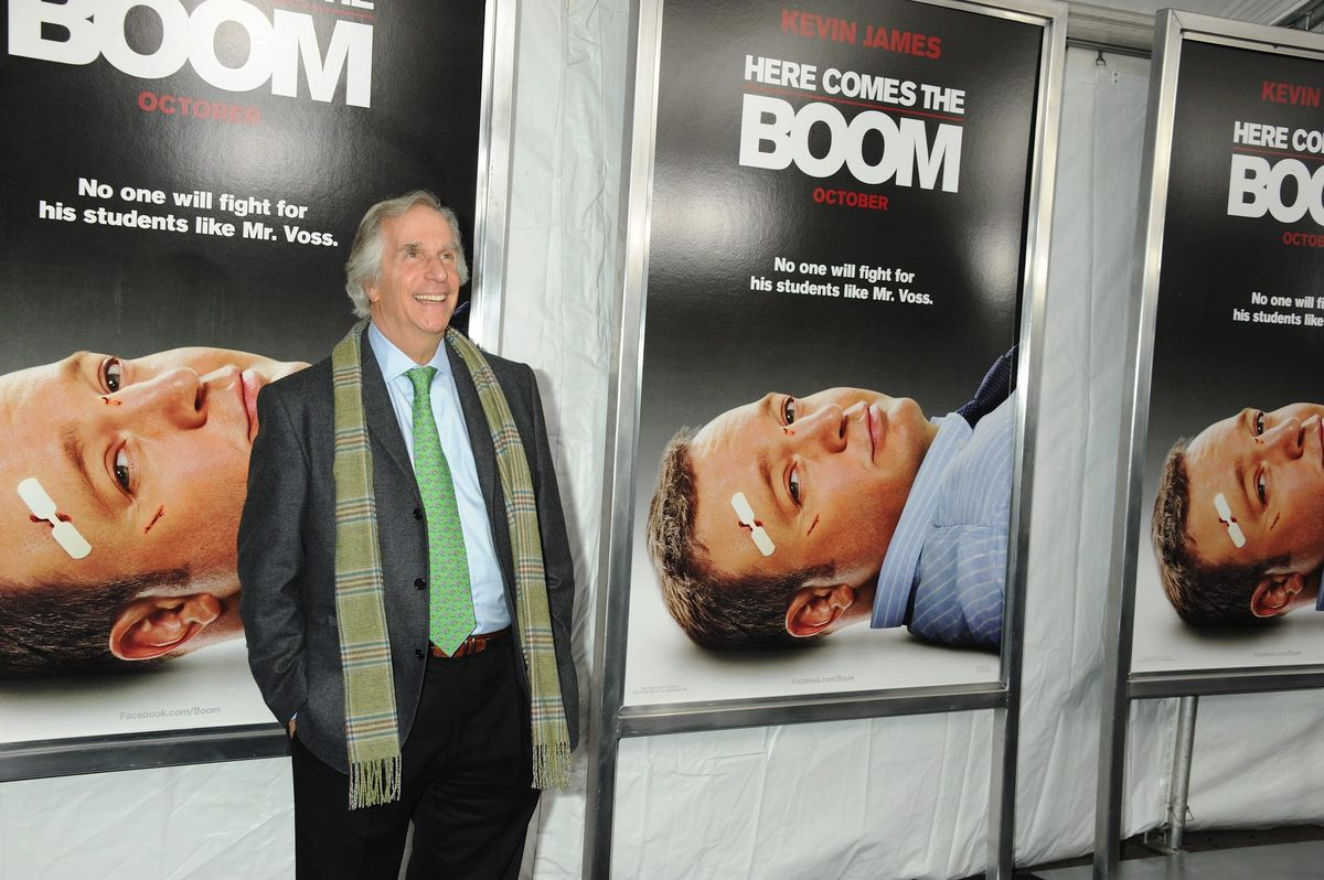 """Henry Winkler World Premiere of """"Here Comes The Boom"""" AMC Lincoln Square Theater New York City, October 2012."""