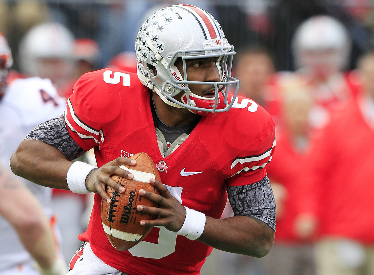 The Buckeyes dual-threat signal-caller finished No. 4 in my final NFP Heisman Watch (behind Klein, Manziel and Te'o), so he t
