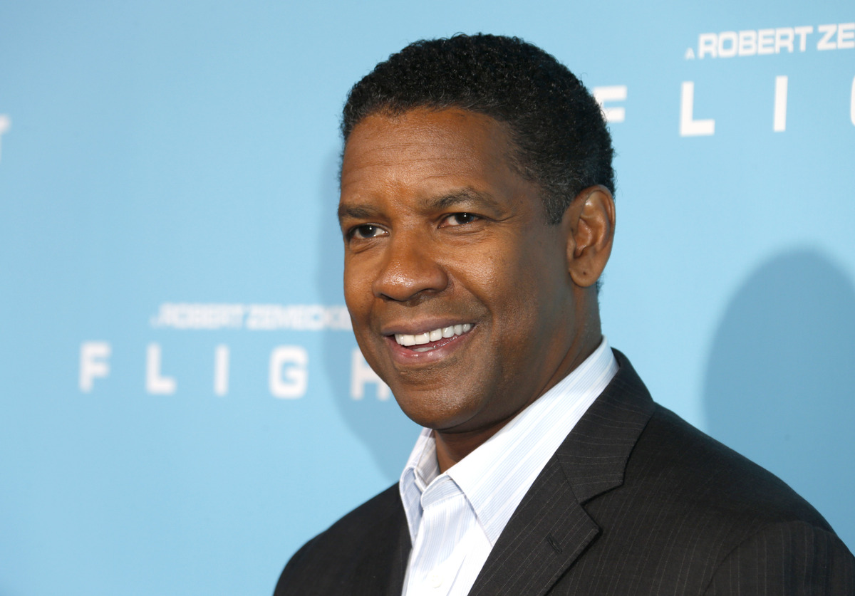 """Denzel Washington, 57, was nominated for his role as Whip Whitaker in """"Flight."""""""