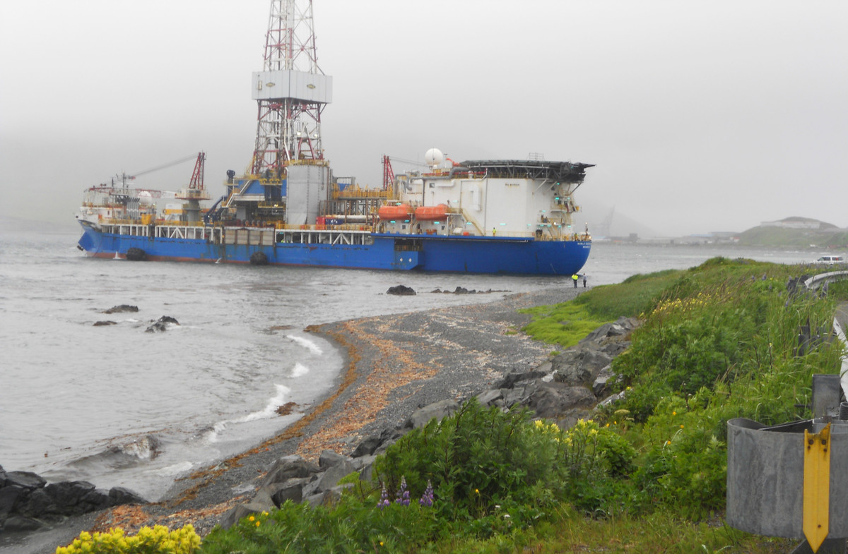 """<a href=""""http://www.huffingtonpost.com/2012/10/31/shell-arctic-ocean-drilling_n_2051872.html"""">Shell's exploratory drilling in"""
