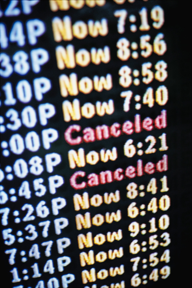 <strong>The Situation:</strong> Your flight has been majorly delayed or even canceled, and you're not able to make it to your
