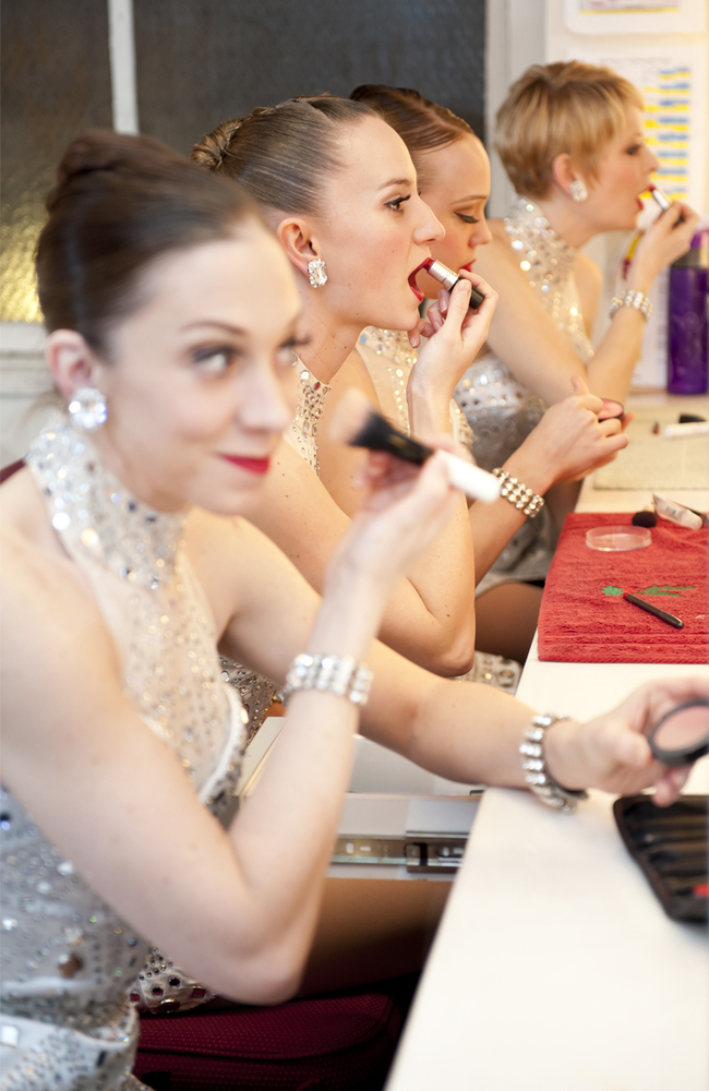 While the Rockettes do all of their own hair and makeup, their secret beauty weapon isn't inside their makeup bags. Consuming